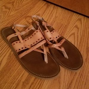 Mossimo beige sandals